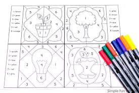 Download these free earth day coloring pages by joining my email list. Earth Day Color By Numbers Mini Coloring Pages Simple Fun For Kids