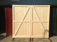 work outbuiding timber wooden garage doors gates barn doors
