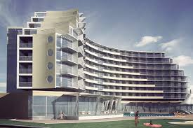 Design Concept For Commercial Building 4 Star Hotel Architectural Design Concept Sunny