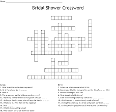 Here are a list of crosswords and crossword clues where the answer is garrets. Wedding Word Crossword Puzzle Wordmint