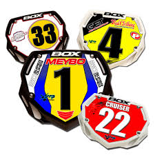 Design Your Own Bmx Plate Box Bmx Plate Custom Number Plates Bmx Race Plates