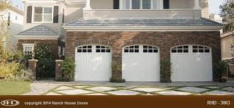 craftsman garage doorsCraftsman Style Garage Doors  Ranch House Doors