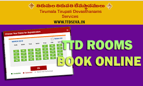 Tirumala Accommodation Availability Chart Ttd Rooms Accommodation Booking Online Check Availability