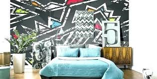 Kids Bedroom Wall Murals Inspiration Boys Bedroom Wallpaper Graffiti For Murals O To Size Of Wall Kids