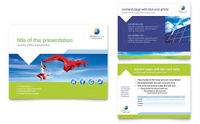Presentation Template Powerpoint Green Living Recycling Powerpoint Presentation