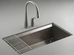 kohler 8 degree stainless steel sink
