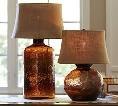 view in gallery colored glass table lamps pottery barn clift 2 thumb 630x567 9988 colored glass table lamps from