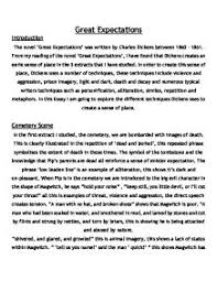 essay on great expectations essay on great expectations by charles dickens 698 words