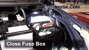 replace a fuse 2007 2011 toyota yaris 2007 toyota yaris s 1 5l 6 replace cover secure the cover and test component