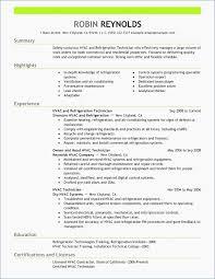 Resume Sample Hvac Resume Samples Boiler Repair Sample Resume