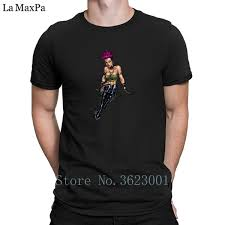 Letters Tshirt Punk Rock Pinup Girl With Purple Hair Mens T Shirt Round Neck Gift Men T Shirt New Style Male Family Design T Shirts Casual Shirts