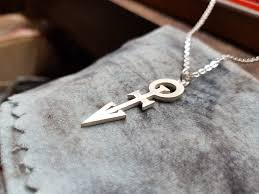 pendant 1st love 2nd version 925 sterling silver handmade