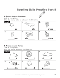 In 2nd grade, children are expected. Reading Skills Practice Test 8 Grade 2 Printable Test Prep And Tests