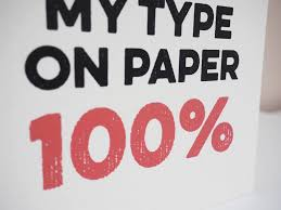you re my type on paper % love island card by bonnie you re my type on paper 100% love island card