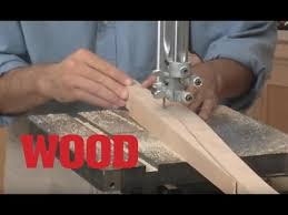 how to cut curved tapered legs on the