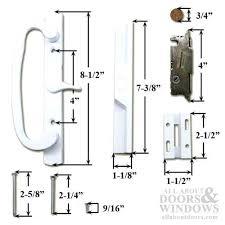 incredible pella sliding glass door parts amazing thermastar by pella patio doors patio door handle kit
