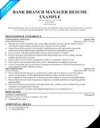 Bank Supervisor Resume