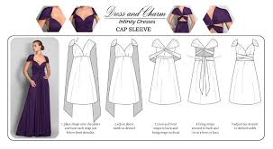 Infinity Dress Pattern Inspiration How To Wear Your Infinity Convertible Dress Tutorial