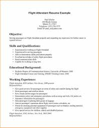 Resume For Beginners With No Experience Sample Perfect No Experience Resume Example On Flight Attendant Resume 15
