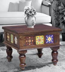 siramika solid wood coffee table in