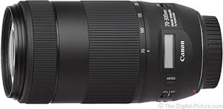 Canon Eos Lens Chart Canon Ef 70 300mm F 4 5 6 Is Ii Usm Lens Review