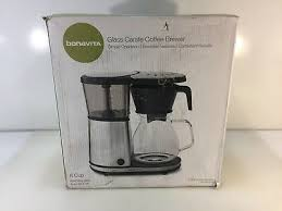 bonavita bv1901gw 8 cup glass carafe coffee brewer with hot plate