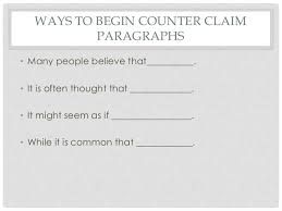 teaching counter claim 4
