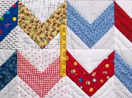 Zig Zag Quilt -- magnificent specially made Amish Quilts from ... & ... Multicolor Zig Zag Crib Quilt Photo 3 ... Adamdwight.com