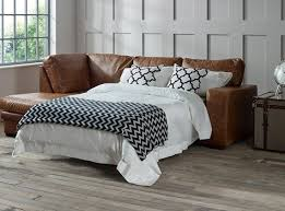 leather sofa beds handmade from real
