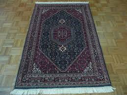 details about 4 x 6 hand knotted green persian bijar oriental rug g416