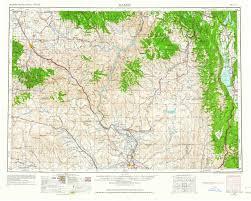 Amazon Com Yellowmaps Baker Or Topo Map 1 250000 Scale 1