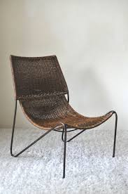 wrought iron indoor furniture. mid century modern frederic weinberg style sling scoop cane wrought iron chairrattan indoor furniture w