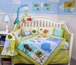 soho gold fish aquarium baby crib bedding set 13 pcs