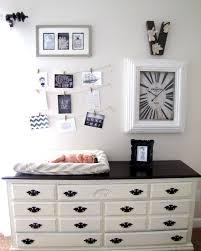 English themed nursery, Neutral nursery, Chalk Paint dresser ...