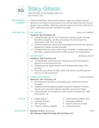 Example Of Accountant Resumes Accountant Resume Examples Created By Pros Myperfectresume