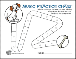 Free Music Practice Charts For Kids Makingmusicfun Net
