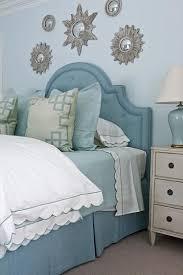 blue upholstered headboard. Fine Blue Blue Upholstered Headboard  Transitional Bedroom Phoebe Howard Inside D