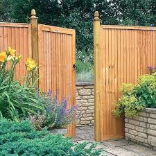 gate for garden fence wooden fences and gates flower intended remodel 7