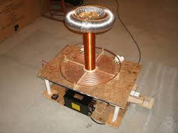 picture of building a tesla coil in 9 easy steps