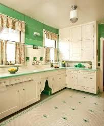 A Linoleum Kitchen Floor