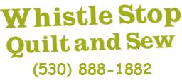 Whistle Stop Quilt and Sew Fabric Shop   Colfax, California & Welcome to Whistle Stop Quilt Shop! 13342 Lincoln Way, Auburn, CA Adamdwight.com