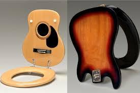 2) Guitar Toilet Seat