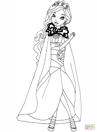 Ever After High Coloring Pages To Download And Print For Free Inside