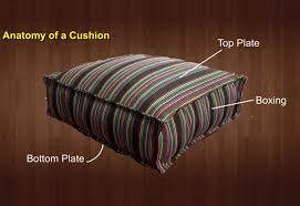 diy patio furniture cushions. How-to-Make-a-French-Mattress-Style-Cushion- Diy Patio Furniture Cushions