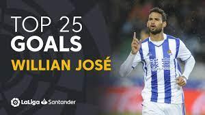 TOP 25 GOALS Willian José in LaLiga Santander - YouTube