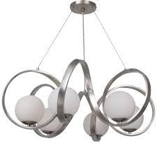 crystorama arlo 6 light antique silver chandelier