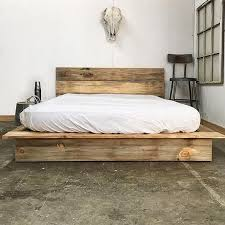 30+ Wooden Low Bed Frame Designs For King Size | Bedroom ideas ...