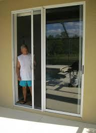 pictures of sliding glass door screen