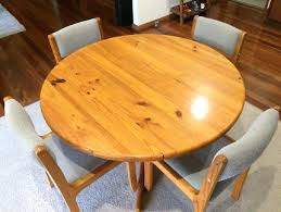 round pine table solid pine dining table 4 chairs