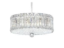 pendant lamp with swarovski crystals plaza pendant lamp by schonbek